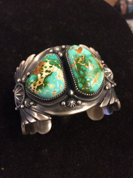 heavy-silver-bracelet-with-royston-turquoise